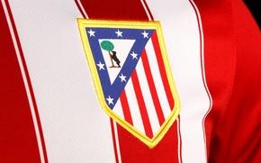 Picture football, club, Sport, emblem, football, embroidery, Atletico Madrid, Club Atlético de Madrid, Spanish, Atletico