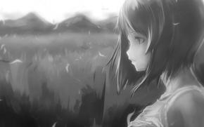 Picture girl, anime, art, idolmaster, hagiwara yuki that, upscale, THE iDOLM@STER, mono110, yae