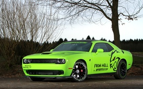 Picture Hellcat, Dodge Challenger SRT, Geigercars, From Hell