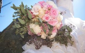 Picture bouquet, wedding, wedding