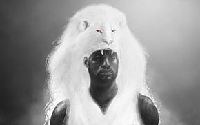 Picture art, male, shaman, John Aslarona