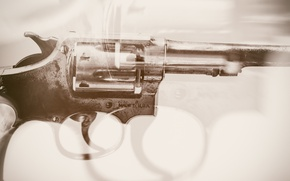 Picture weapons, background, revolver