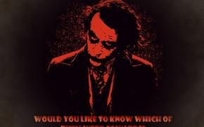 Picture fantasy, Joker, the dark knight