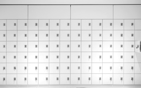Picture background, color, lockers