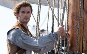 Picture Chris Hemsworth, rope, ship, In the Heart of the Sea, In the heart of the ...