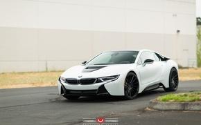 Picture machine, auto, BMW, wheels, drives, auto, Vossen Wheels