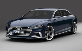 Picture Concept, Audi, DarkBlue, Before, Prologue