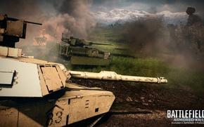 Picture field, tank, battlefield, kill, armored