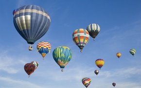 Picture the sky, flight, balloon, basket, parade