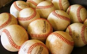 Picture balls, baseball, wilson
