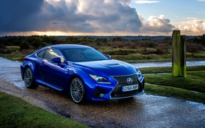 Picture Lexus, Lexus, UK-spec, 2014, RC F