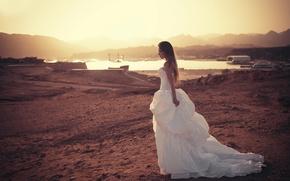 Picture girl, dress, the bride, Masha, Ivan Gorokhov