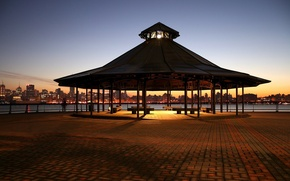 Picture lights, panorama, gazebo