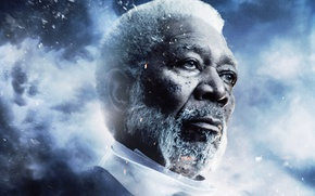 Picture Action, Clouds, Sky, with, Wallpaper, War, Last, Year, Weapons, Knight, Morgan Freeman, Man, Movie, Battle, …