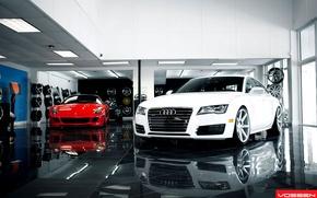 Picture Tuning, Desktop, Machine, Car, Car, Wallpapers, Ferrari 599, Sportcars, Audi A7, Wallpaper, Automobiles, Voss, Vossen, …