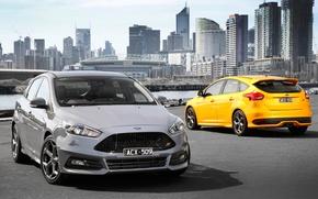 Wallpaper Ford, focus, Focus, Ford, AU-spec, 2015