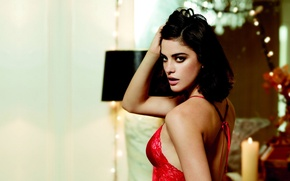 Picture model, look, brunette girl, Alejandra Alonso