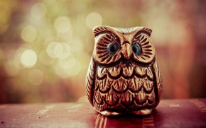 Picture owl, bird, figure