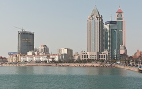 Picture the city, China, building, Qingdao