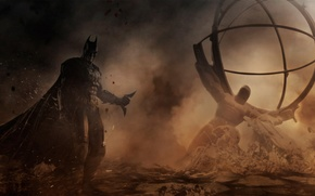 Picture batman, the game, Batman, game, ps3, fight, injustice gods among us, videogame