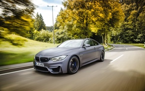 Picture BMW, in motion, bmw m4