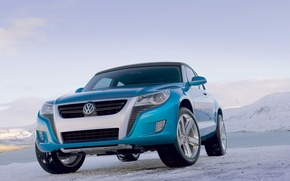 Picture the sky, ice, Volkswagen, Bay, Concept A