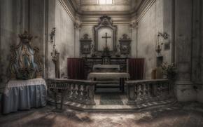 Picture interior, temple, religion