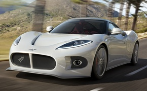 Picture road, Concept, mountains, view, front, Spyker, Venator