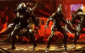 Picture crossover, prototype 2, dark sector, alex mercer, nemesis, warframe