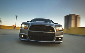Picture Auto, Machine, Grille, Dodge, Lights, charger, the front