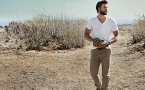 Picture photoshoot, Liam Hemsworth, Men's Fitness