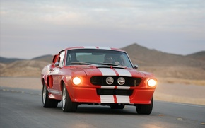 Wallpaper mustang, ford, shelby, cobra, 1967, gt500cr