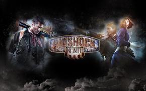 Picture Bioshock infinite, Elizabeth, Booker DeWitt