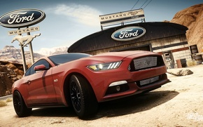Picture Ford, mustang, Need for Speed, nfs, 2013, Rivals, 2015, NFSR, NSF
