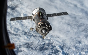 Picture space, ship, space, Union, manned, Soyuz, TMA15M
