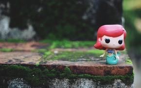 Picture hair, mermaid, figure, Ariel