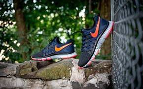 Picture sneakers, Nike, Free Trainer 5.0 iD, Urban Solar Red