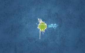 Wallpaper for mobile phones, tablet computers, based on the Linux kernel, Android, operating system, netbooks (ACER ...