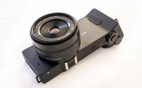 Picture macro, background, camera, Sigma DP2 Quattro