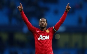 Picture star, france, defender, football, Manchester United, old trafford, evra, red devil, champ20ns