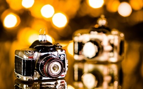 Picture background, toy, camera