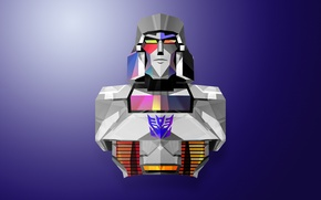 Picture abstraction, transformers, minimalism, Megatron