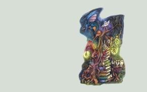 Picture background, books, art, fantasy, children's. tales
