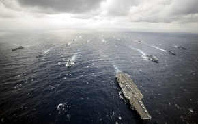 Picture USS George Washington, PHILIPPINE SEA, Carrier Strike Group