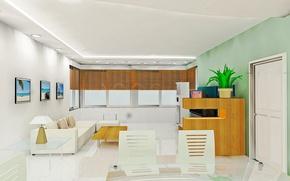 Wallpaper style, sofa, room, picture, interior, apartment, chair, design