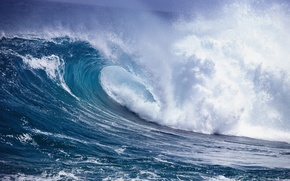 Picture WATER, The OCEAN, POWER, WAVE, ELEMENT