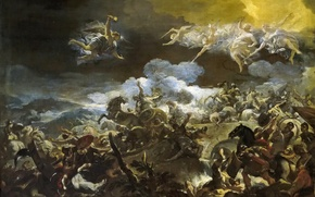 Picture picture, mythology, Luca Giordano, The Defeat Of Sisera