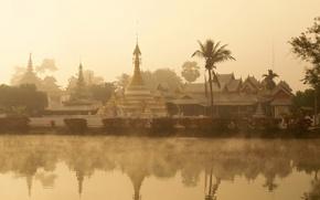 Picture Golden Triangle, Thailand, Wat Chong Kham