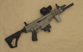 Picture weapons, SBR, assault rifle, XCR-M