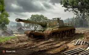 Picture WoT, World of Tanks, World Of Tanks, Wargaming Net, Object 268